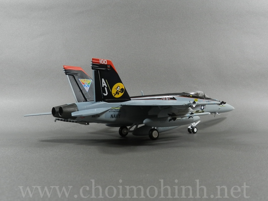 F-18E Super Hornet US Navy 1:72 Witty Wings back