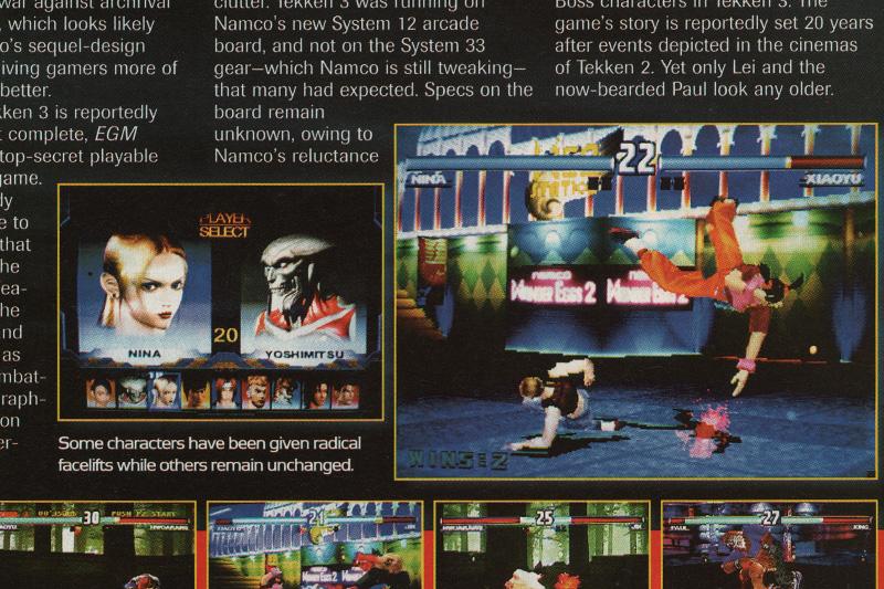 Tekken Magazine Scan