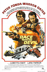 'Race with the Devil' movie poster, 1975