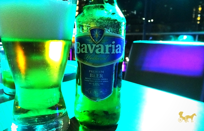 Bavaria premium beer from manila with love