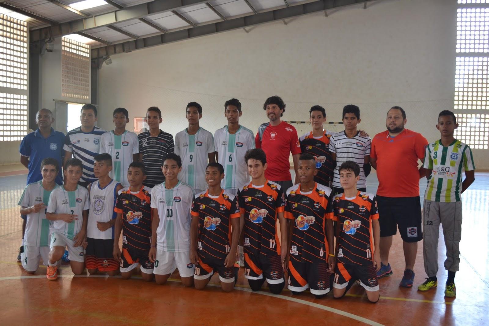 29bbe9dc1f Professor Rubinho e o técnico Alacides de Santa Luzia do Paruá