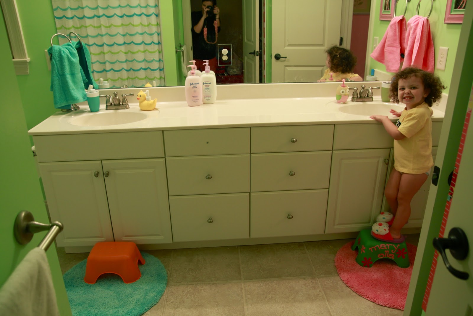 Everyday Blessings: Kids Bathroom Update