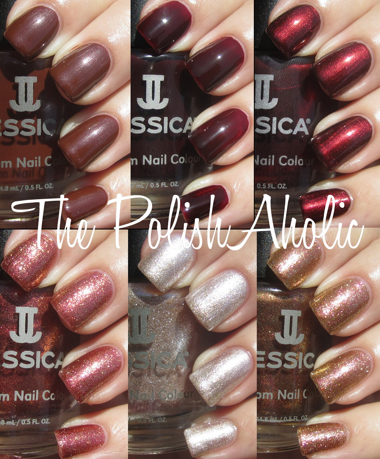 The PolishAholic: Jessica Fall 2012 Spicy Dream Collection Swatches
