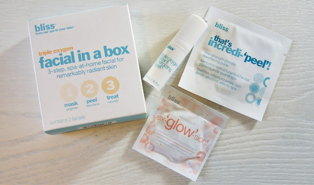 Bliss Triple Oxygen Facial In a Box