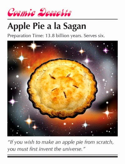 apple pie, Carl Sagan, Sean Bieri