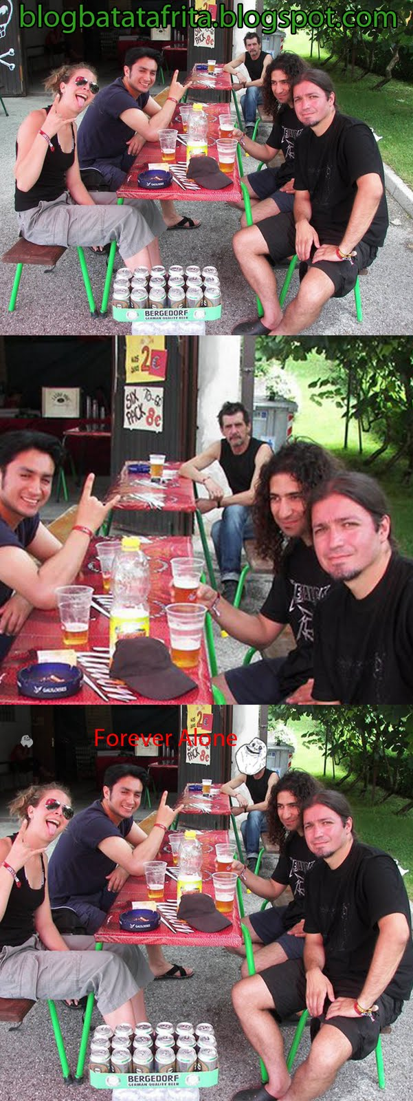 forever alone churrasco metal fans