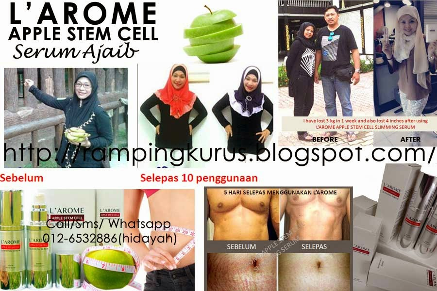Serum Ajaib L'AROME Apple Stem Cell Slimming Serum