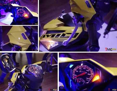 gambar yamaha mio m3 trending yellow