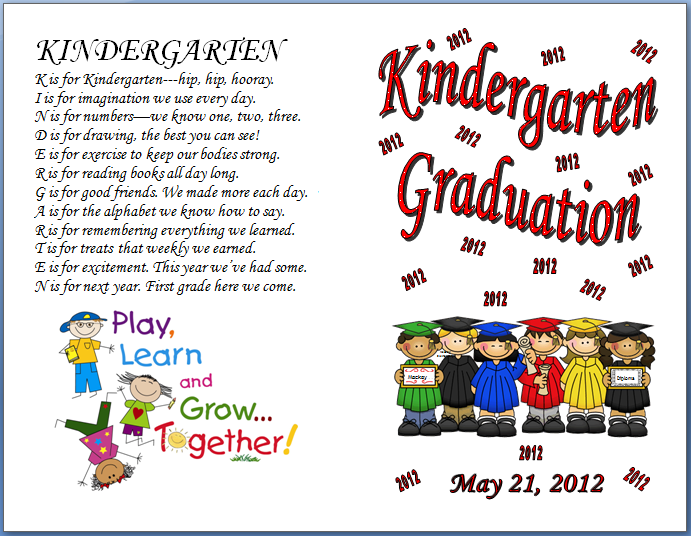 preschool graduation poem kindergarten graduation quotes quotesgram 696