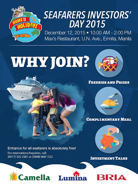 Join The Seafarer Investors' Day 2015 FOR FREE!