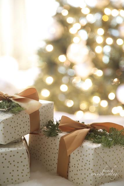 Christmas bedroom presents
