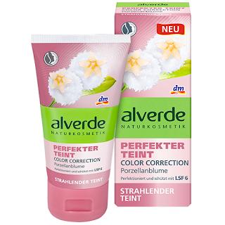 Preview: Perfekter Teint - alverde - Color Correction - www.annitschkasblog.de