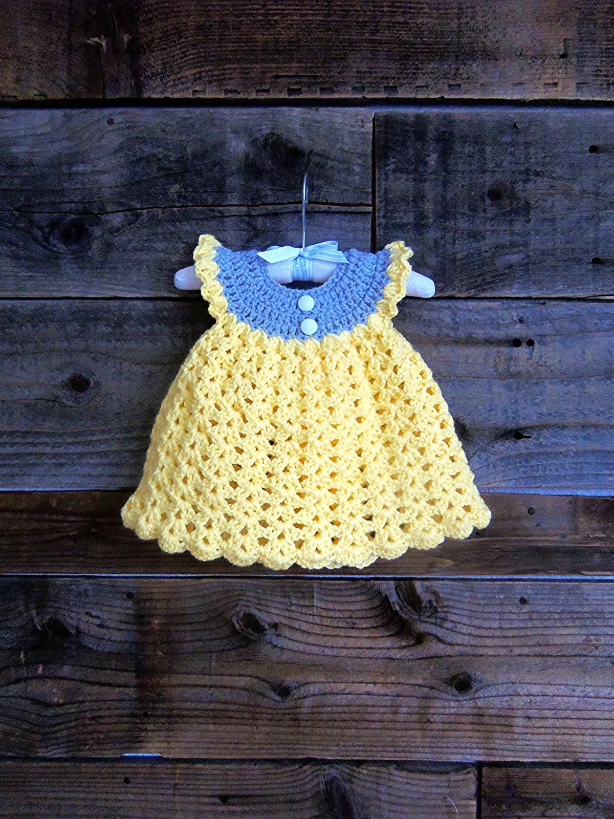 3squeezes Crochet Baby Girl Summer WInter Dresses