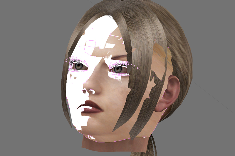 Nina Williams Character Model Work in Pregress