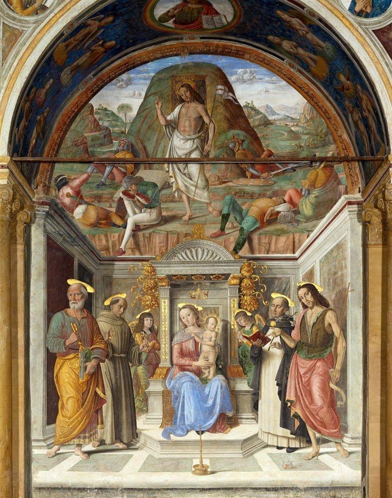 Giovanni Santi - Cappella Tiranni