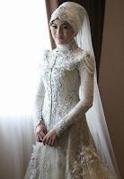 Gaun Pengantin Artis Muslimah Terindah