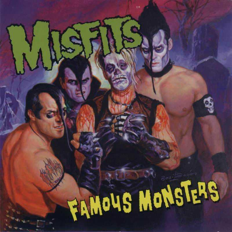 The Misfits Famous+monsters+frontal