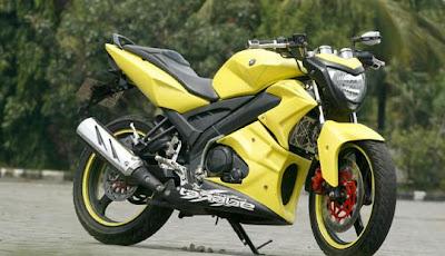 Modifikasi Yamaha Vixion Street Fighter