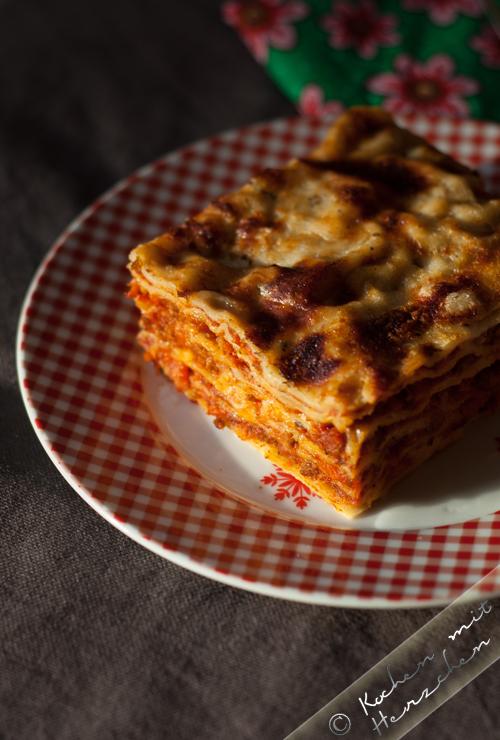Lieblings-Lasagne mit frischer Pasta