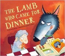 http://www.amazon.com/Lamb-Who-Came-Dinner/dp/1589250672/ref=sr_1_1?s=books&ie=UTF8&qid=1389988006&sr=1-1&keywords=the+lamb+who+came+for+dinner