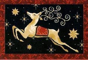 Natal e tapetes personalizados de rena