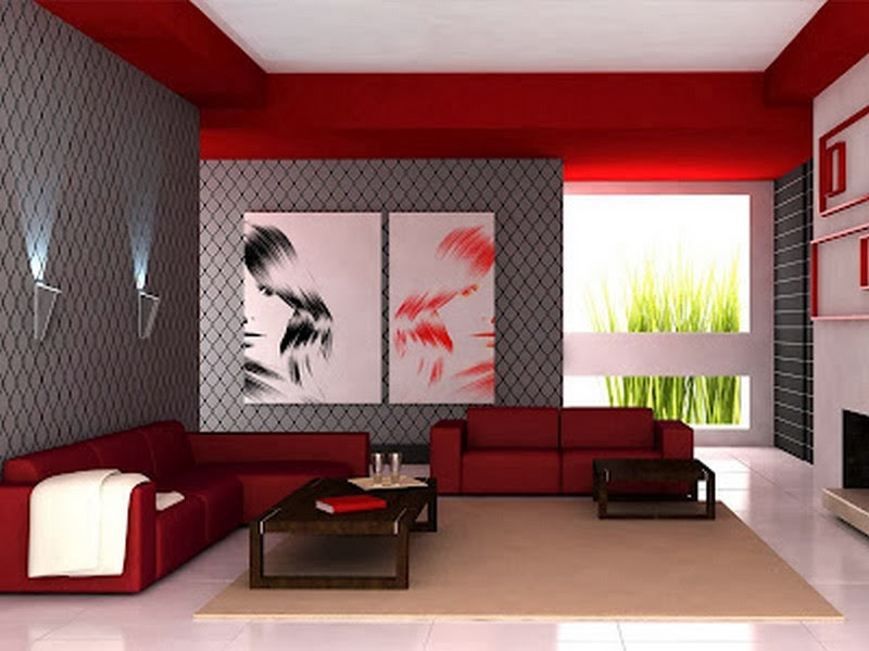 Ruang Tamu Minimalis Modern Terbaru 2014