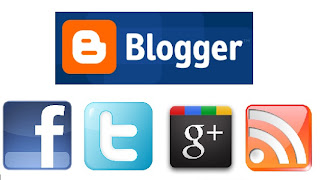 Blogger Eklentileri - Hareketli Sosyal Paylaşım Sitesi Butonları