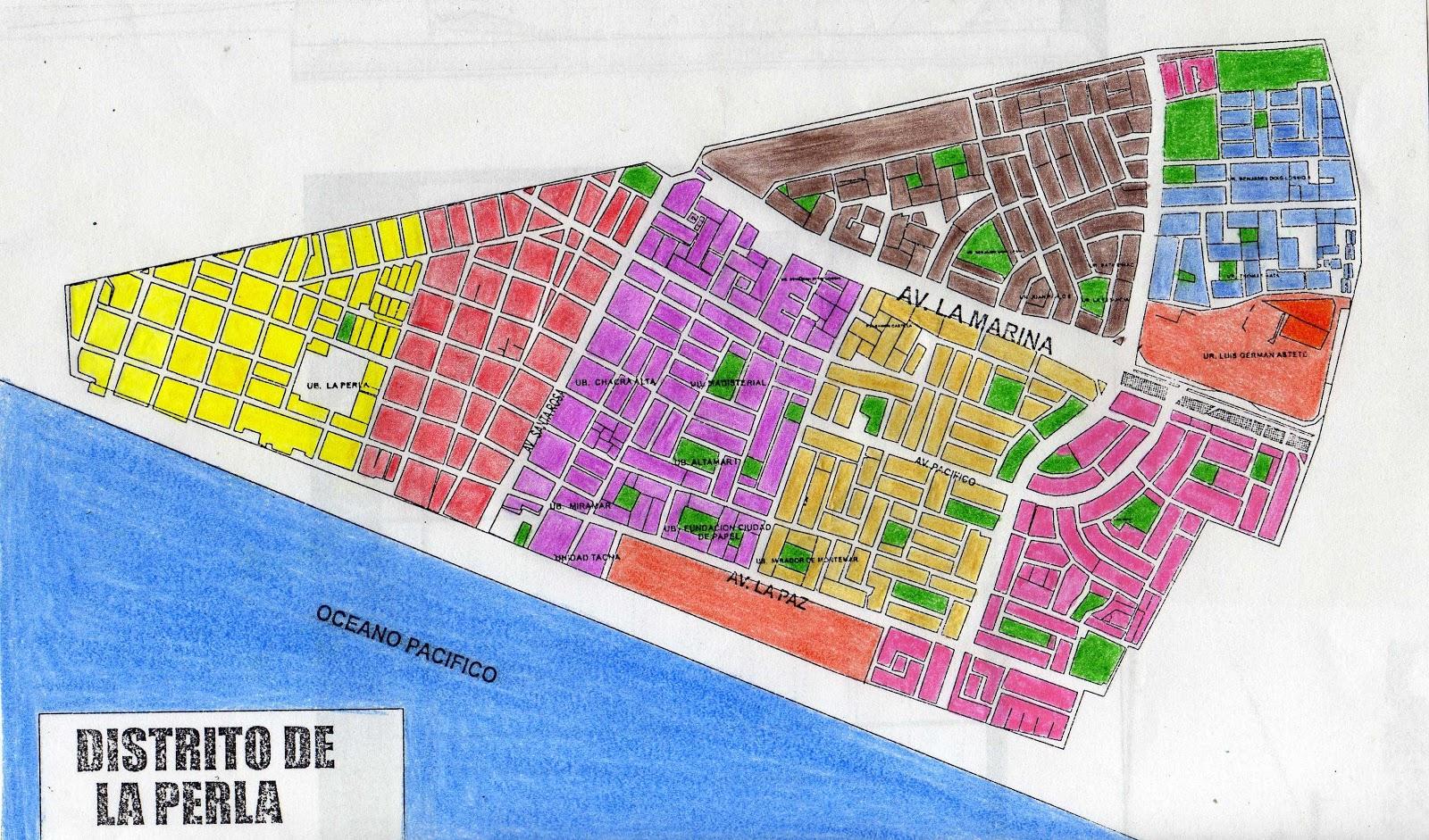 Para mis tareas mapa del distrito la perla callao for Plano de villa el salvador