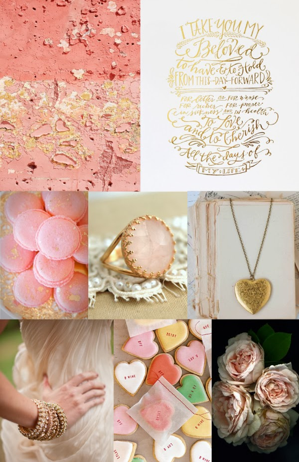 Blush & Gold Wedding