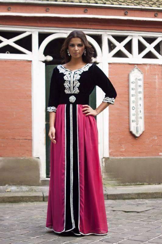 Vente caftan marocain boutique en ligne