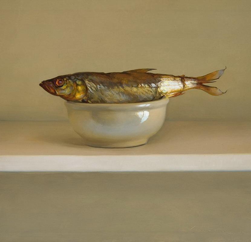 Pintura moderna y fotograf a art stica cuadros al oleo - Cuadros con peces ...