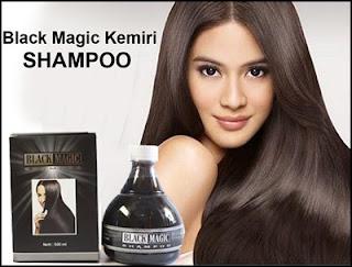 Black Magic Kemiri Shampoo Menghitamkan dan Menebalkan Rambut