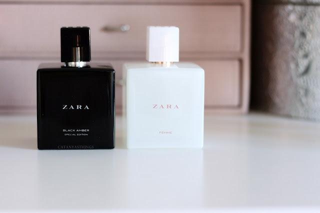 femme black amber zara fragances