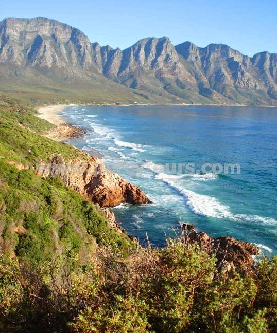 Hermanus coast scenery