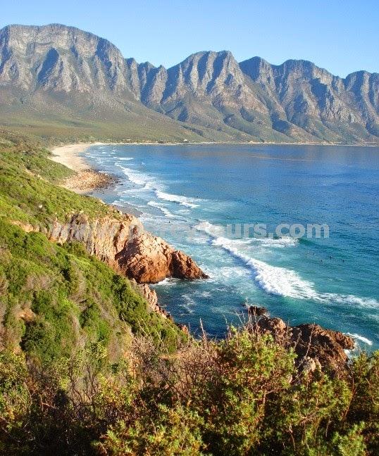 Hermanus coast scenery
