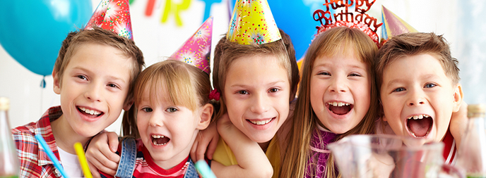 Fun Birthday Party Game Ideas for 5 - 7 Year Olds!