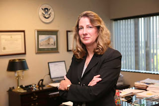 Nancy Kratzer, retired Deputy Special Agent in Charge of Homeland Security Investigations in Dallas