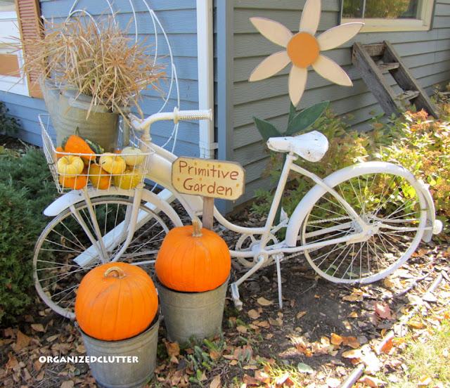Fall Vintage Bike