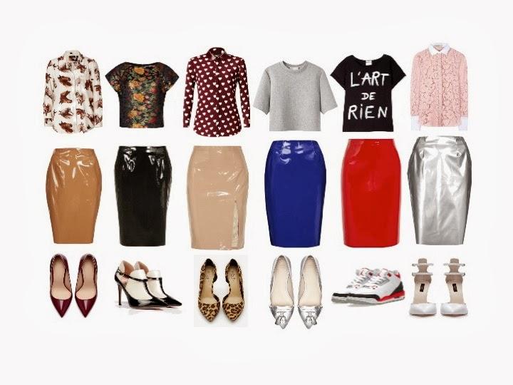 Trend Alert: Vinyl Skirts