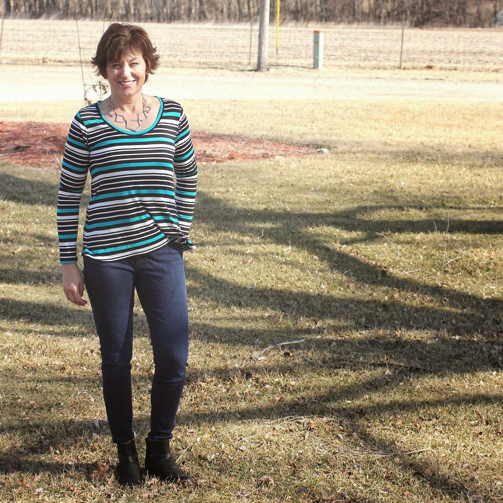 Deer and Doe Plantain t-shirt from Style Maker Fabrics jersey knit
