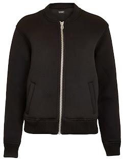 Topshop Neoprene Jacket