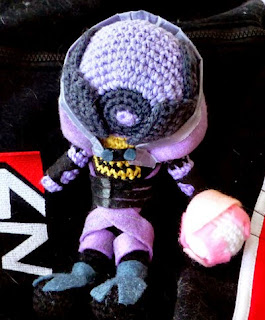 http://www.instructables.com/id/Mass-Effect-Crochet-TaliZorah/