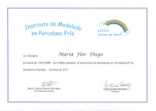 DIPLOMA CURSO MODELADO CON LETICIA SUREZ DEL CERRO. OCT 2011.