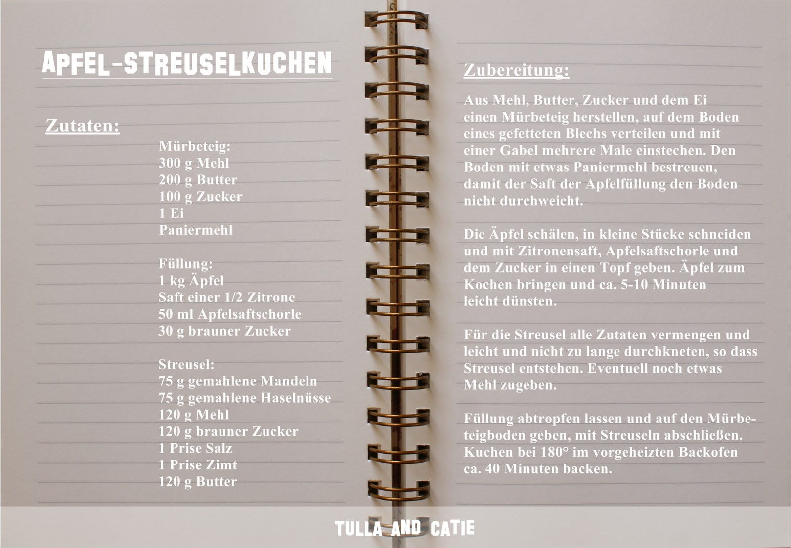 Tulla and Catie - ♥ things I love to share : Herbstliche ...