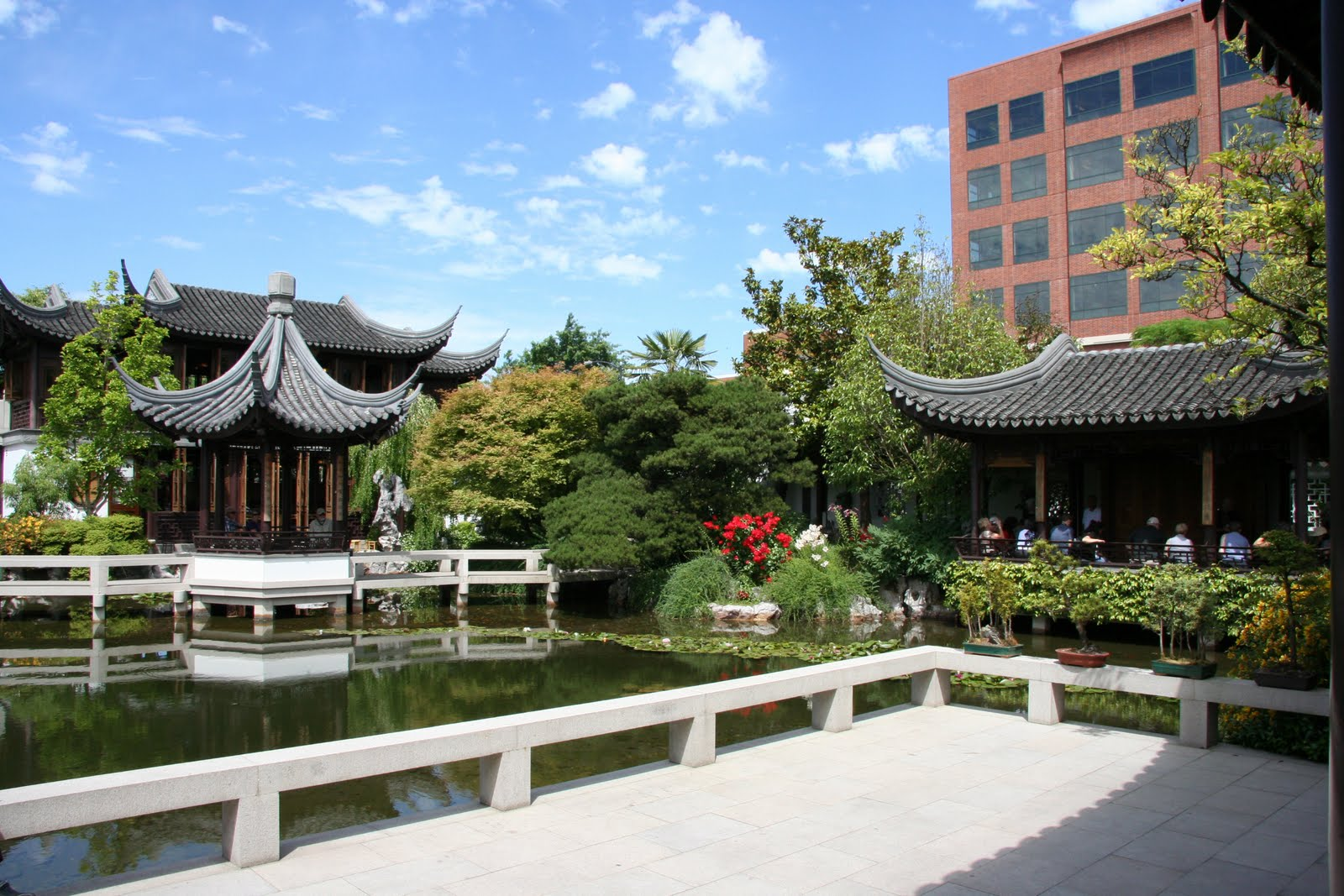 Daffodils Daydreams Garden Visit Lan Su Chinese Garden in
