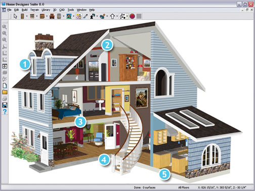 July 2011 for 3d house design app
