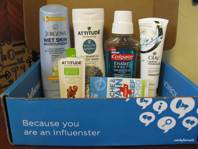 Influenster Wellness VoxBox