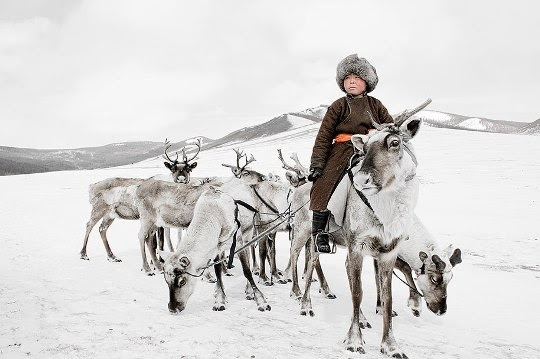 Tssatan people, Mongolia.