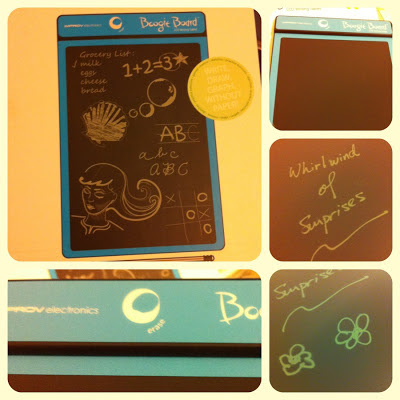 Boogie Board, Erasable tablet