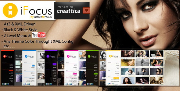 ActiveDen - iFocus Photography XML Template